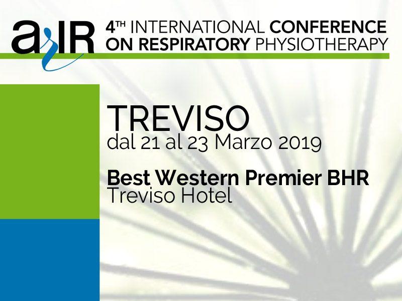Marzo 2019 congresso arir treviso fisioterapia respiratoria